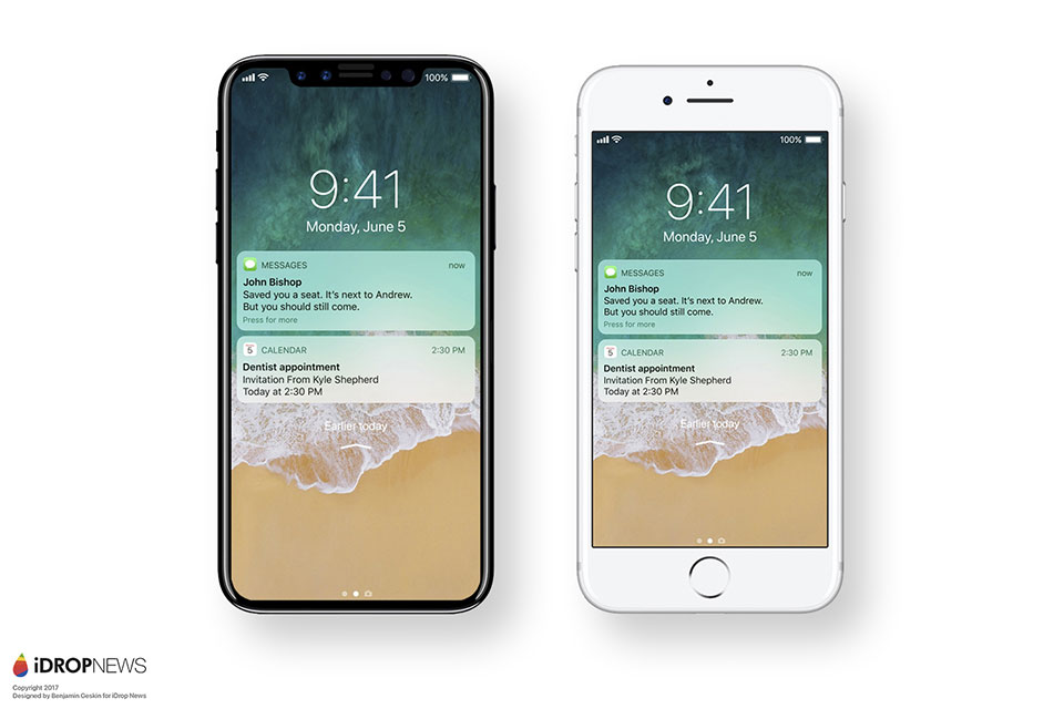 iPhone 8 chạy iOS 11