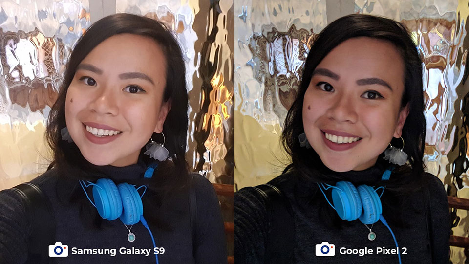So sánh camera Galaxy S9 vs Pixel 2