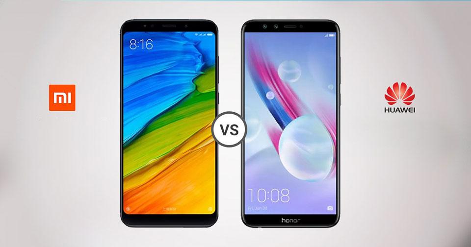 Honor 9 Lite vs Xiaomi Redmi 5 Plus