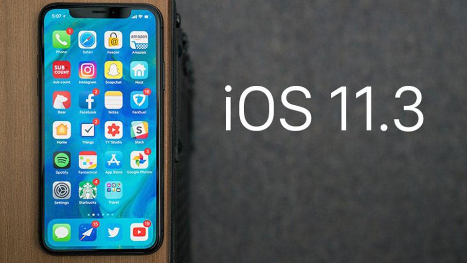 Apple phát hành iOS 11.3 cho iPhone, iPad