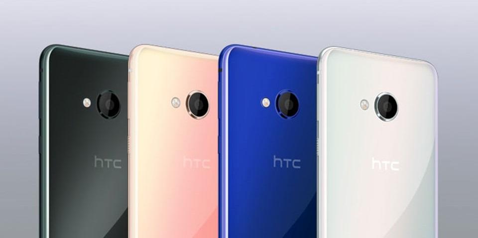 HTC U Play có 4 màu sắc độc đáo