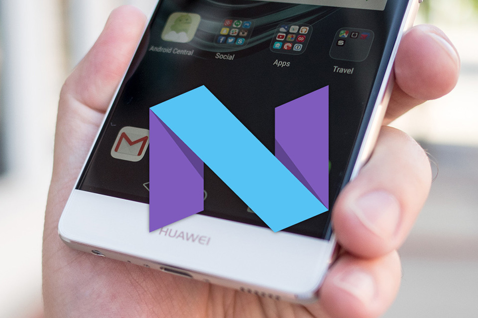 Android 7.0 Nougat cho Huawei P9