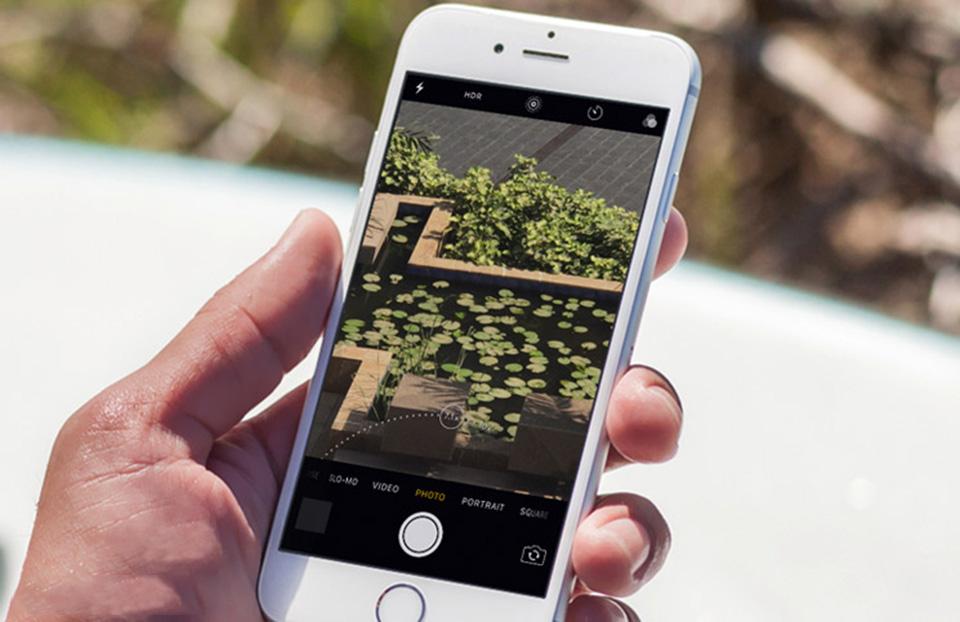 Sử dụng tính năng zoom trên camera iPhone 7 Plus
