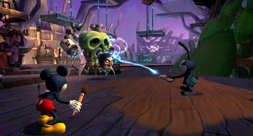 1. Epic Mickey series