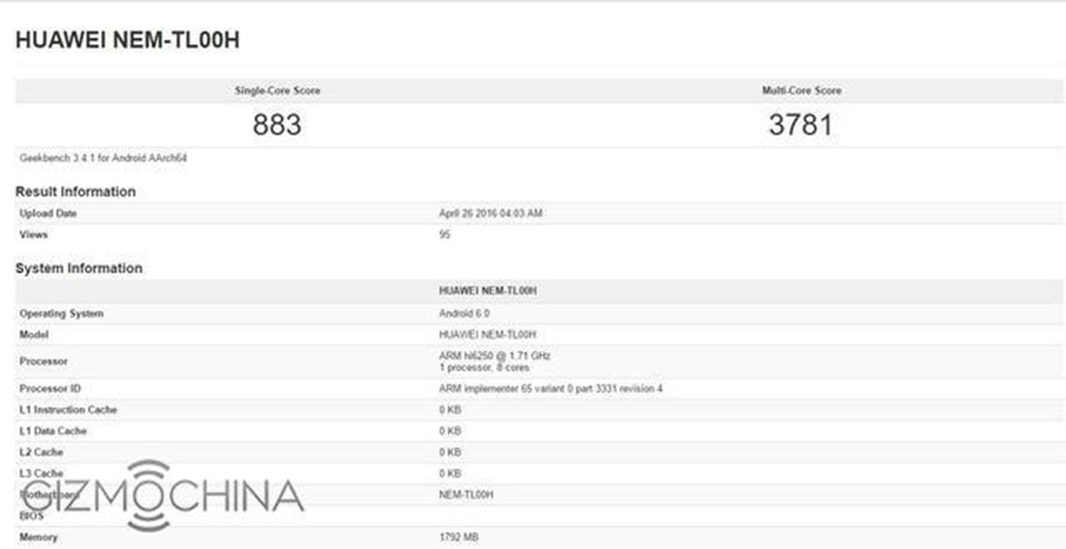 Huawei sẽ trang bị vi xử lý Kirin 650 cho Honor 5C