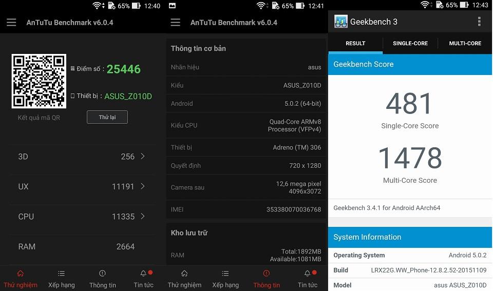 Đánh giá Asus Zenfone Max: Thiết kế tốt, pin trâu và giá mềm