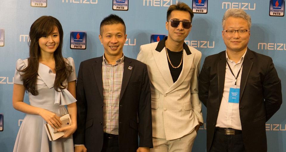 Thương hiệu điện thoại Meizu chính thức ra mắt tại Việt Nam