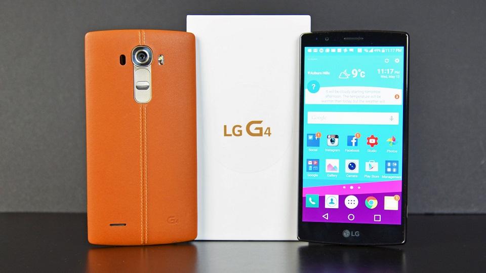 LG G4 cập nhật Android 7.0