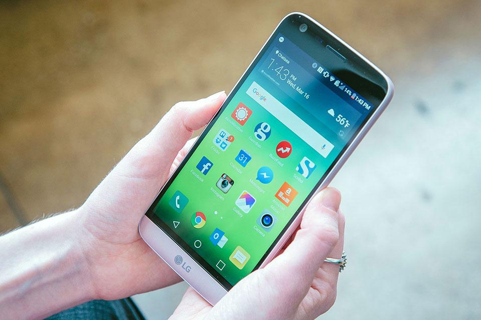 Hướng dẫn ẩn các ứng dụng trên màn hình chủ LG G5