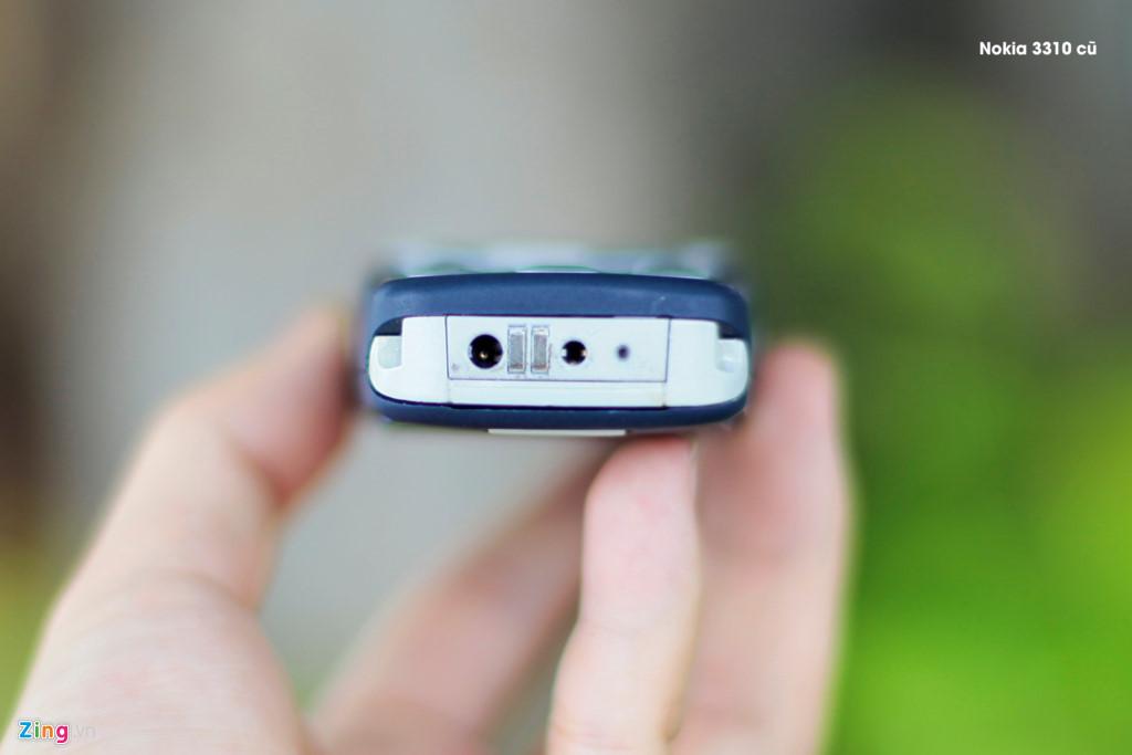 So sánh hai thế hệ Nokia 3310 15