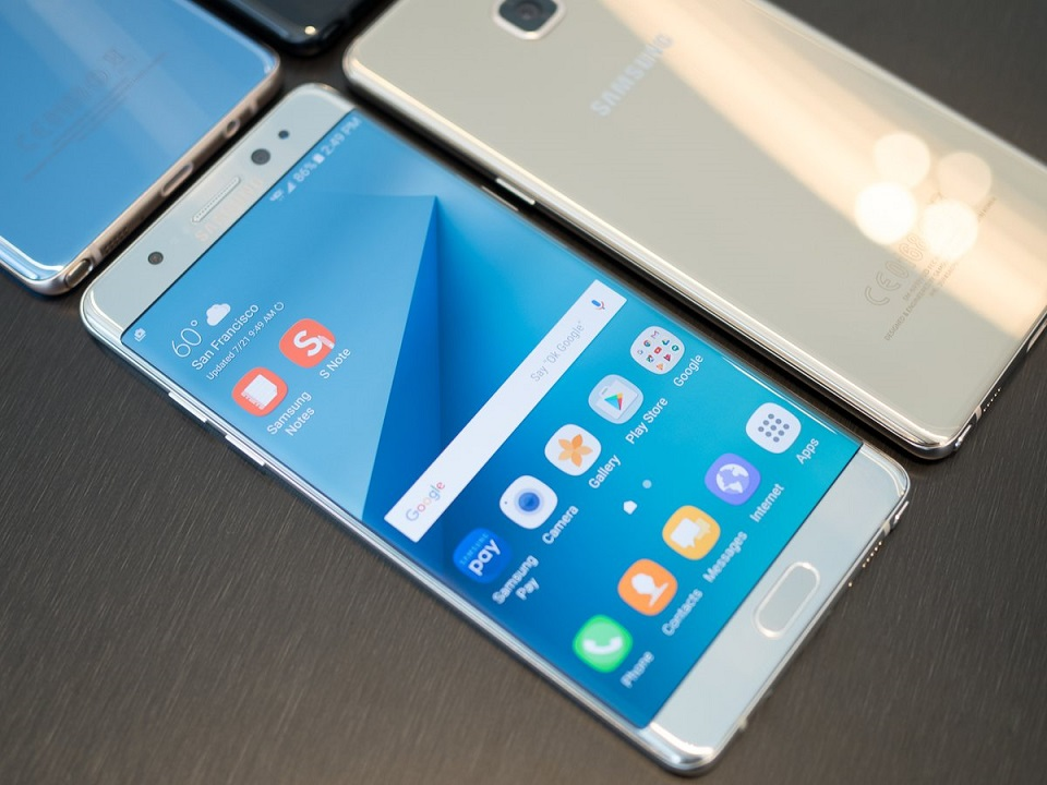 Galaxy Note 7 là smartphone có màn hình đẹp nhất thế giới 457