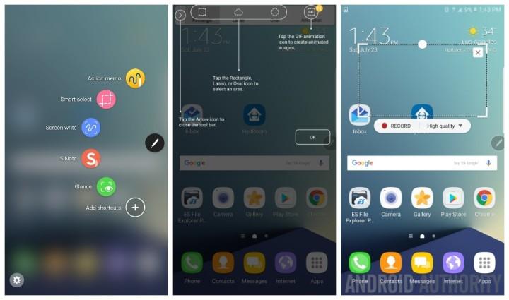 Galaxy Note 7 tiếp tục rò rỉ màn hình quét mống mắt 5