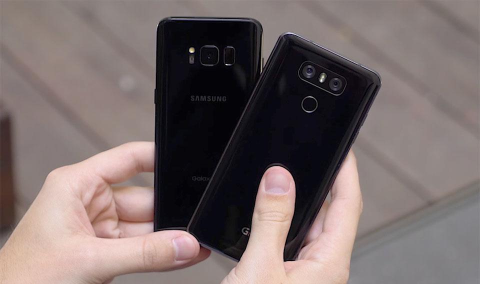Galaxy S8 và LG G6 (ảnh 4)
