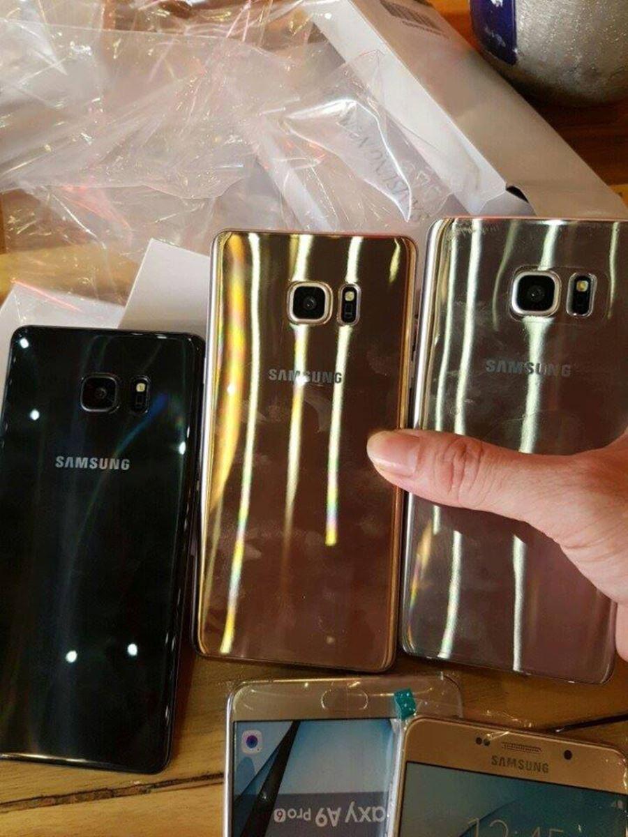 Trên tay Samsung Galaxy Note 7 đầu tiên trên thế giới tại Việt Nam