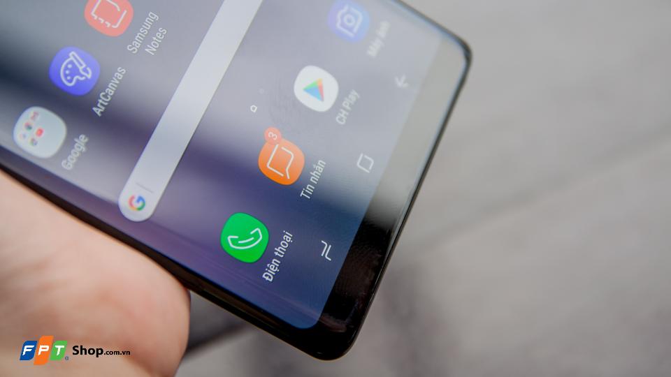 Galaxy Note 8 loại bỏ phím Home