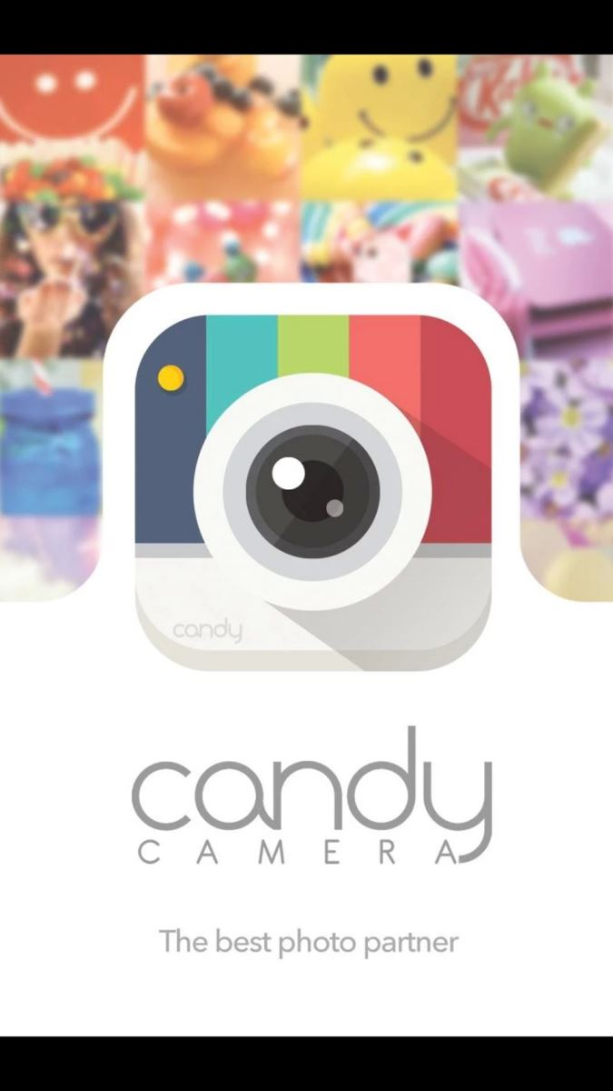 Ứng dụng Candy Camera