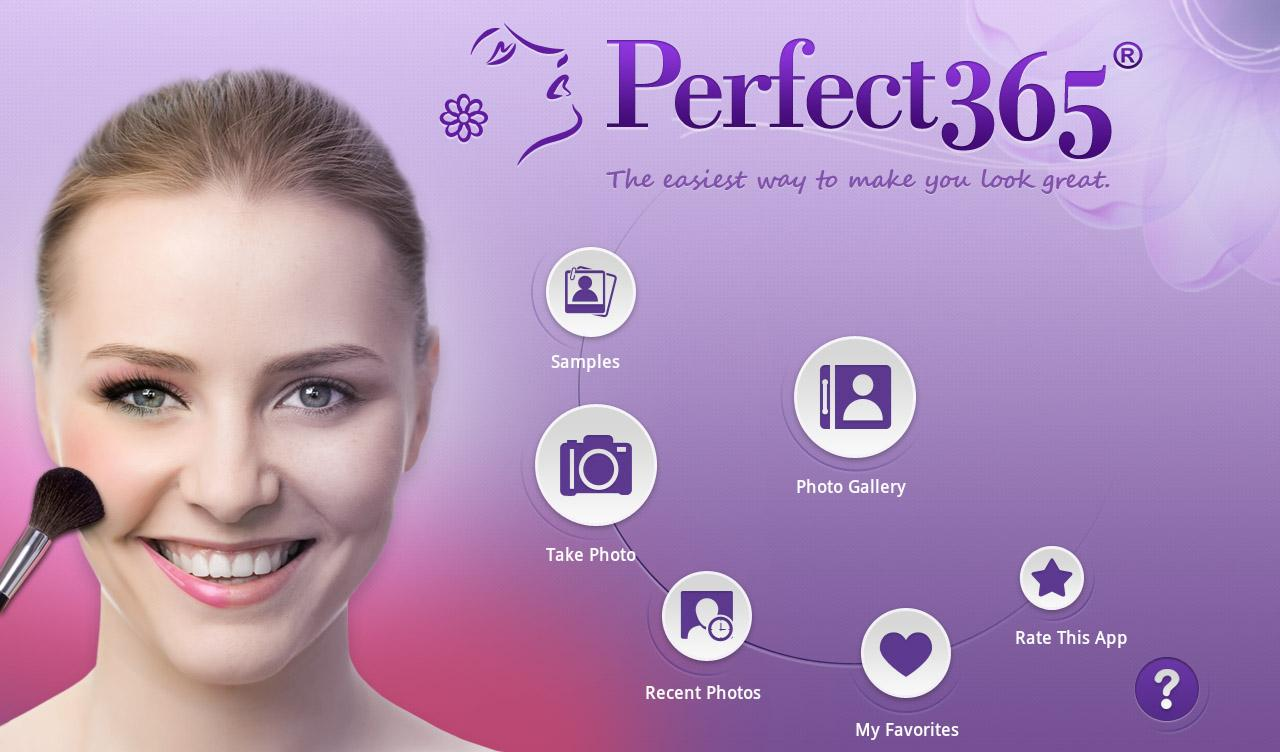 Ứng dụng Perfect 365