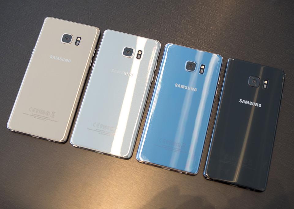 7 thay đổi thú vị trên Samsung Galaxy Note 7