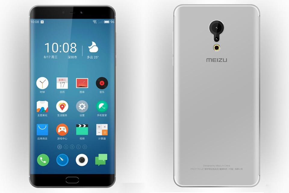 Hình ảnh rò rỉ Meizu Pro 7