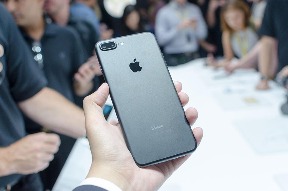 Phiên bản iPhone 7 Plus màu đen nhám