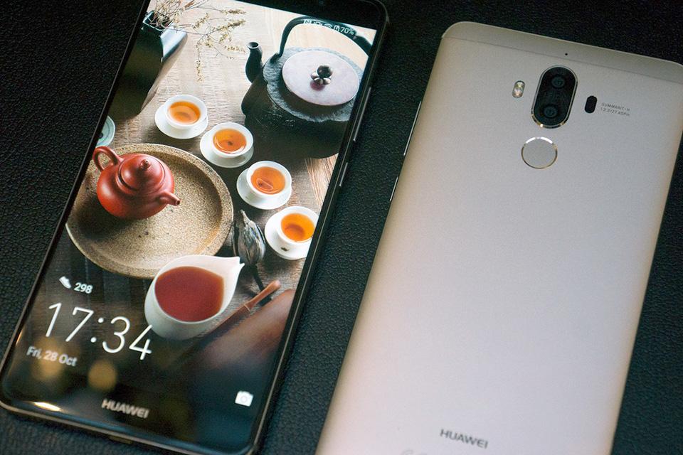 Trên tay Huawei Mate 9