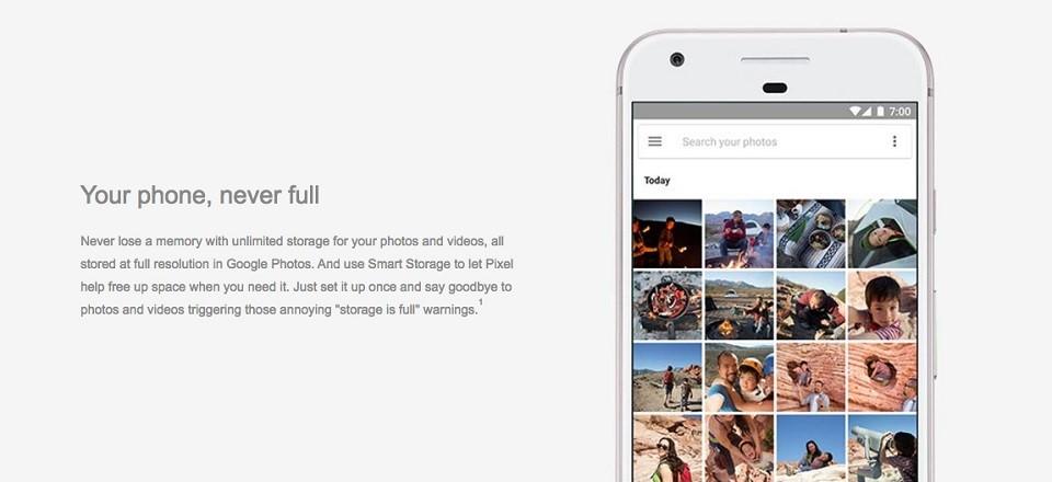 5 lý do nên mua Google Pixel thay vì iPhone 7 4