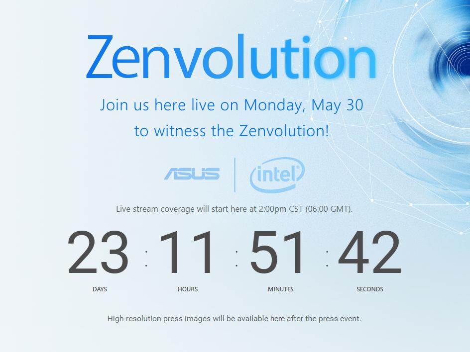 Asus ZenFone 3 dự kiến ra mắt vào ngày 30/5 tới
