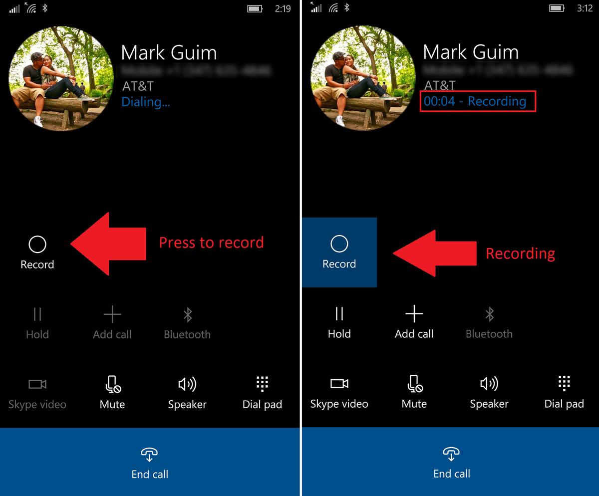 Cách thiết lập chế độ ghi âm cuộc gọi trên Lumia 950 và Lumia 950 XL 2