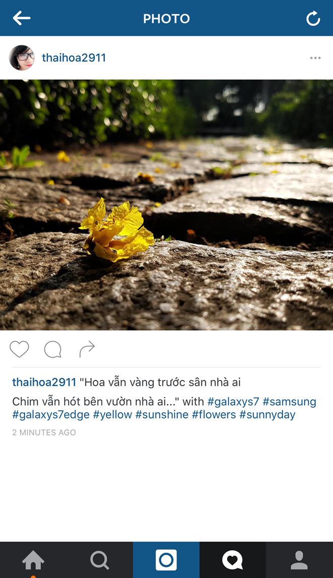 Chiêm ngưỡng loạt ảnh chụp bằng Galaxy S7 trên Instagram