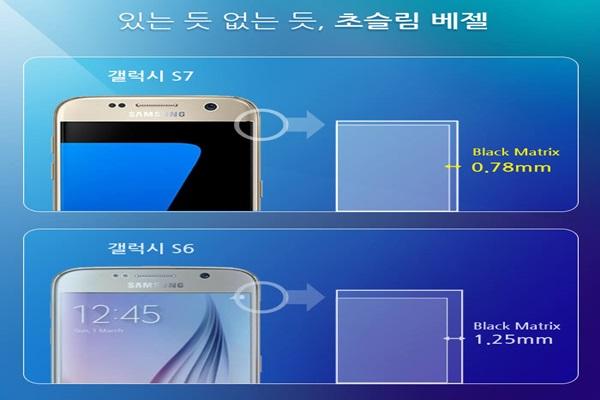 Galaxy S7 edge là smartphone có màn hình cong 4 cạnh