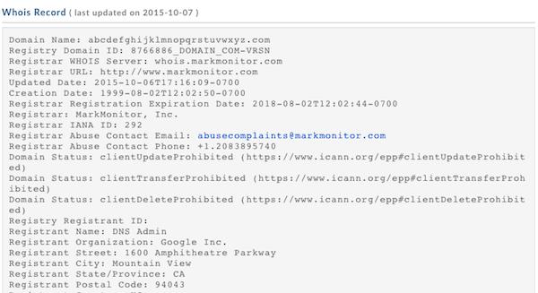 Google mua tên miền từ abcdefghijklmnopqrstuvwxyz.com 2