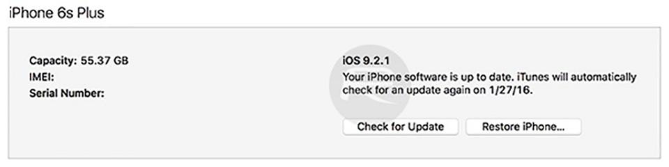 Hướng dẫn hạ cấp từ iOS 9.2.1 xuống iOS 9.2 trên iPhone, iPad