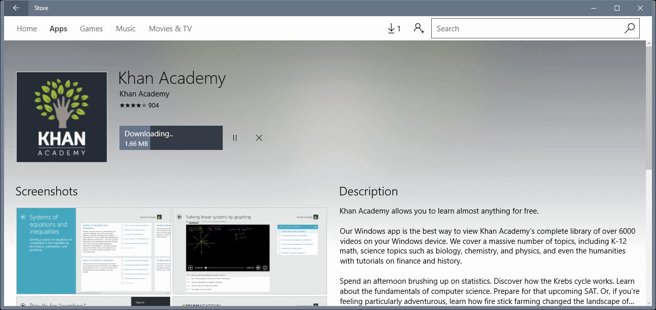 Dễ dàng tải ứng dụng trên Windows 10 Store mà không cần đăng nhập Microsoft Account