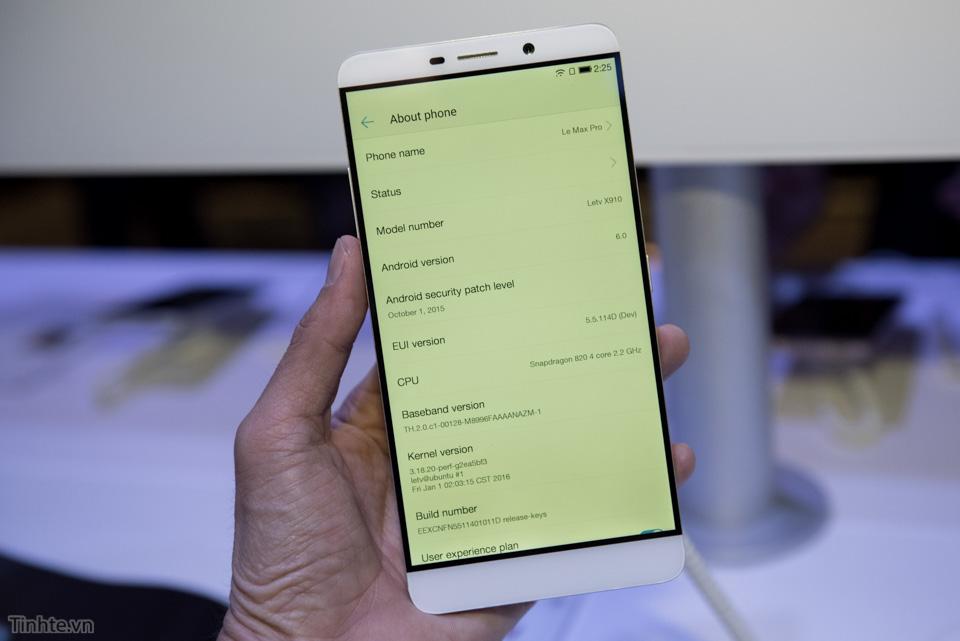 Khám phá sức mạnh ẩn chứa trong smartphone LeTV Le Max Pro 6