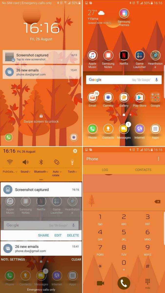 Mời tải về 14 bộ theme đẹp và ấn tượng nhất cho Galaxy Note 7 5
