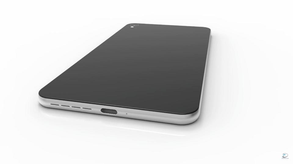 Ngất với độ chất của Nokia C1 trong video render mới