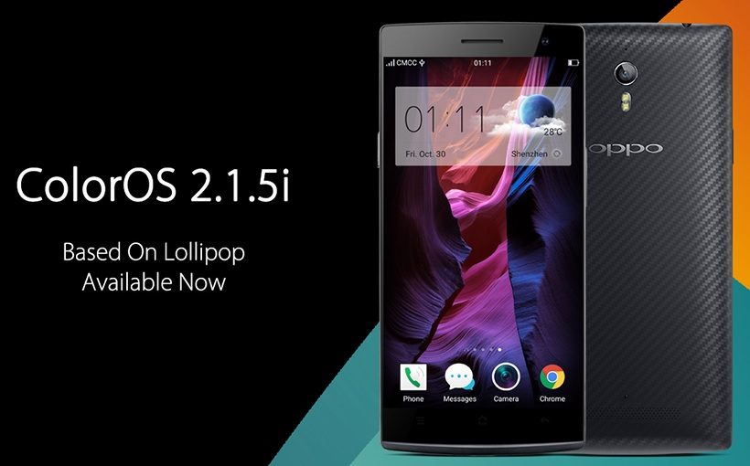 OPPO ra mắt ColorOS 2.1.5i cho Find 7