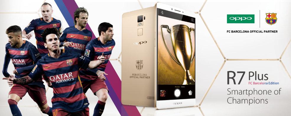 OPPO trở thành nhà tài trợ mới của câu lạc bộ Barca 2
