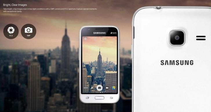 Samsung ra mắt Galaxy J1 (2016) và Galaxy J1 mini