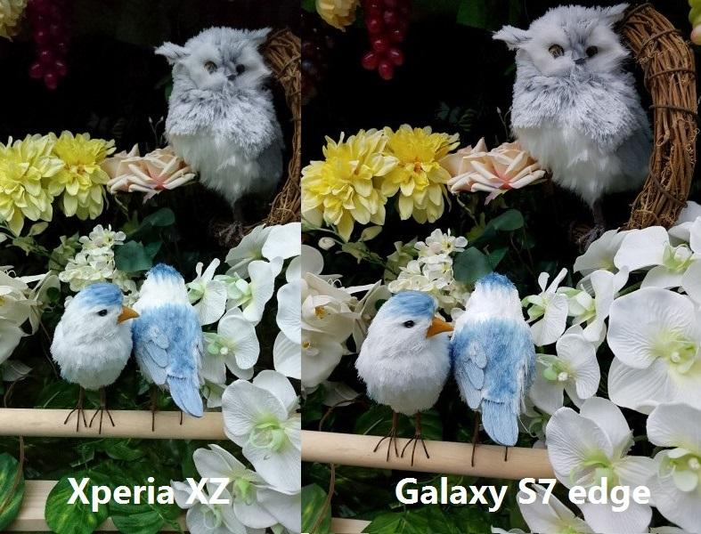 So sánh nhanh Sony Xperia XZ và Samsung Galaxy S7 edge 6