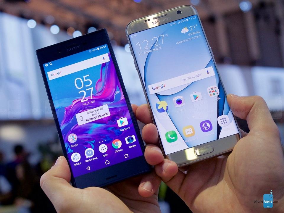 So sánh nhanh Sony Xperia XZ và Samsung Galaxy S7 edge 3