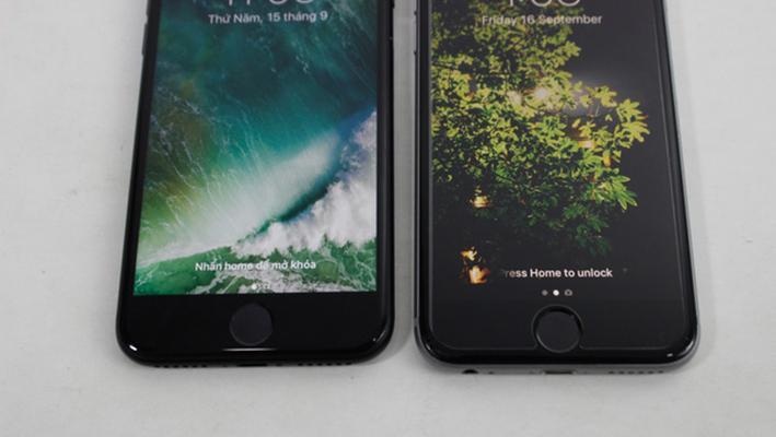 iPhone 7 đen mờ đọ dáng iPhone 6s xám: máy nào đẹp hơn? 2