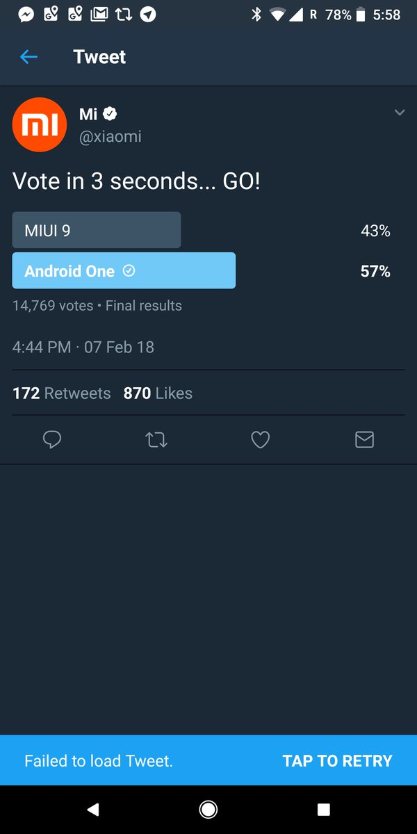 Vote MIUI 9 hay Android One