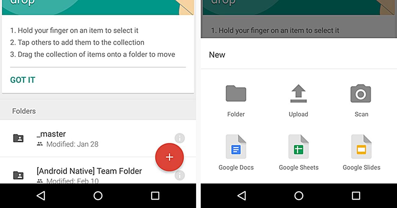 Sao lưu file nhạc trên Android thông qua Google Drive