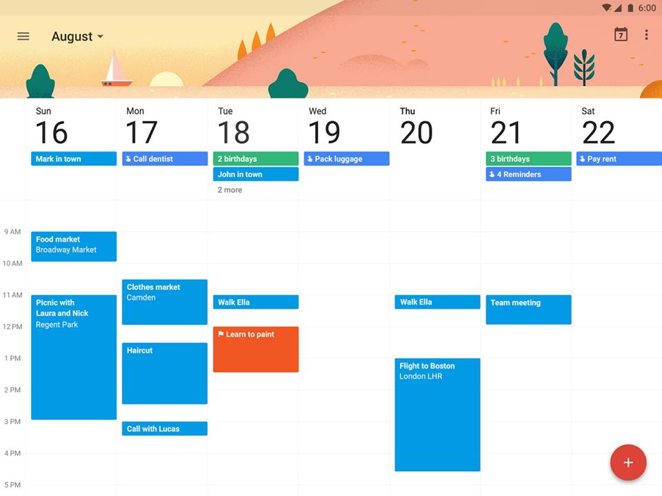 Cách dùng Google Calendar