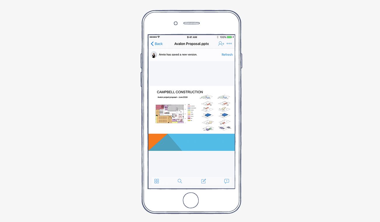 Cập nhật 5 tính năng mới nhất của ứng dụng Dropbox trên iOS 10 4