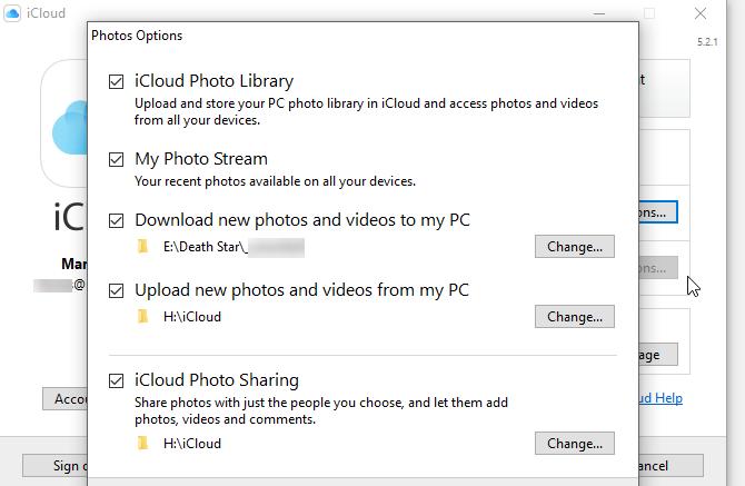Hướng dẫn đồng bộ hóa iCloud giữa iPhone và Windows 10 6