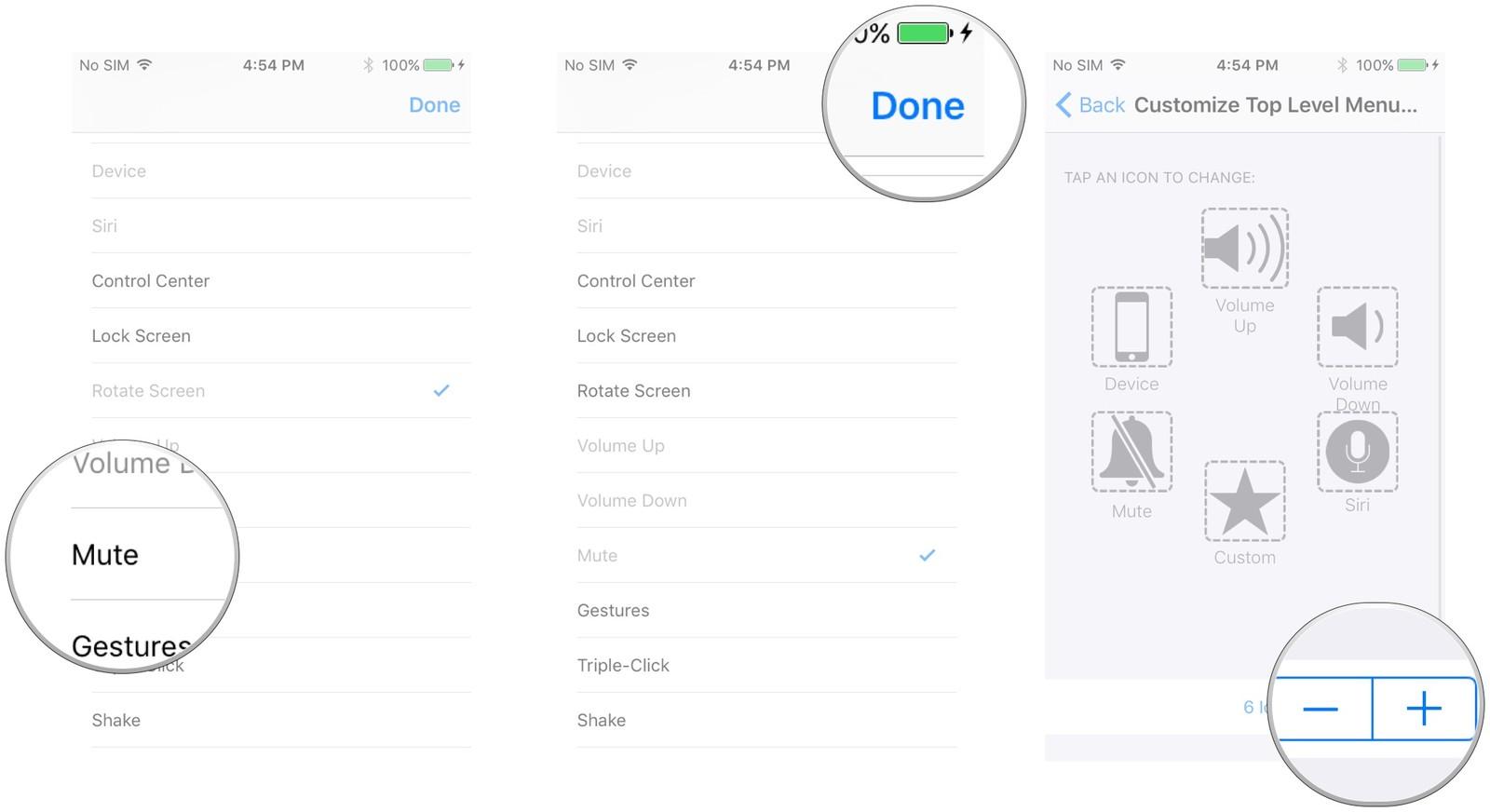 Hướng dẫn sử dụng tính năng AssistiveTouch trên iOS 10 9