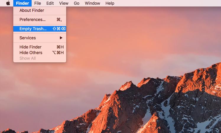 Hướng dẫn cách ngừng việc tự động update lên Mac OS Sierra 8