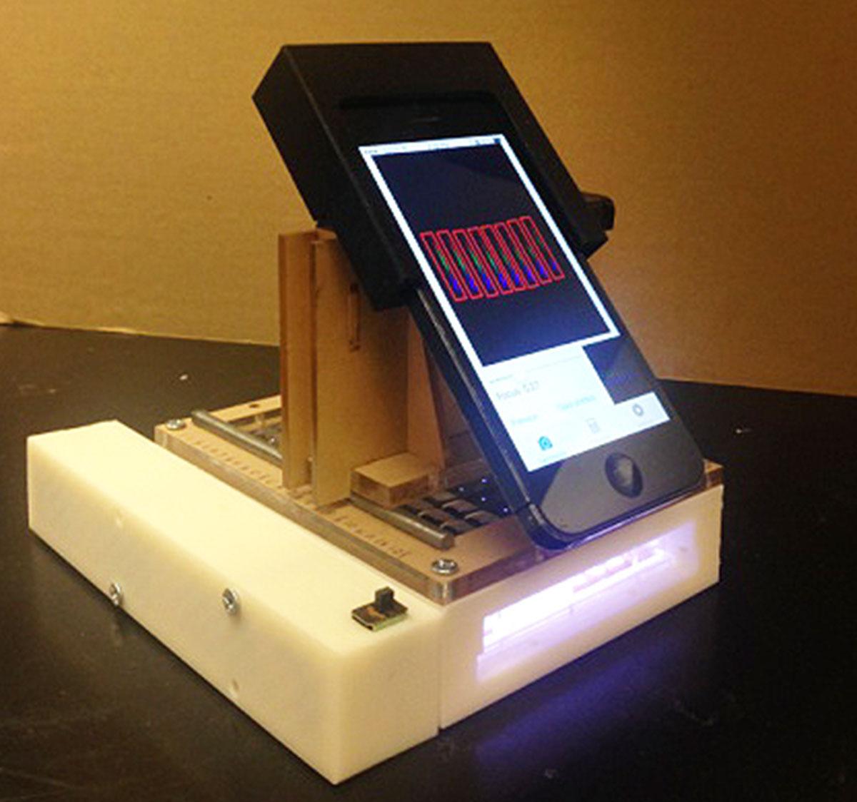 Một nhóm các nhà khoa học dùng iPhone để chuẩn đoán ung thư 2